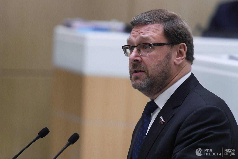 Косачев: Российские законодатели готовы к диалогу с Европарламентом